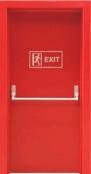 металлическая дверь на проем 1300